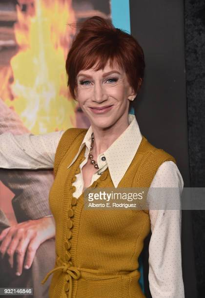 Kathy Griffin attends the Screening Of HBO's The Zen Diaries Of Garry Shandling at Avalon on March 14 2018 in Hollywood California