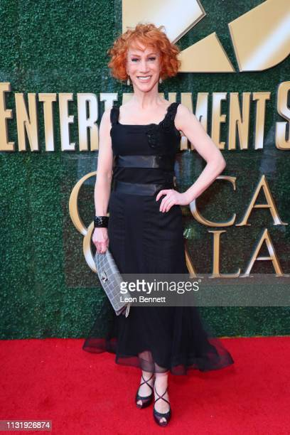 Kathy Griffin attendsan Oscar viewing and after party hosted by Byron Allen at the Beverly Wilshire Four Seasons Hotel on February 24 2019 in Beverly...