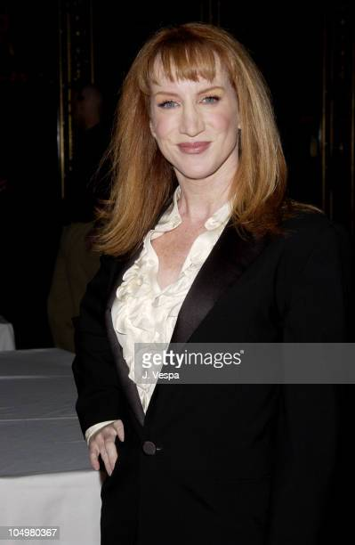 Kathy Griffin during 3rd Golden Trailer Awards at El Capitan Theatre in Los Angeles California United States