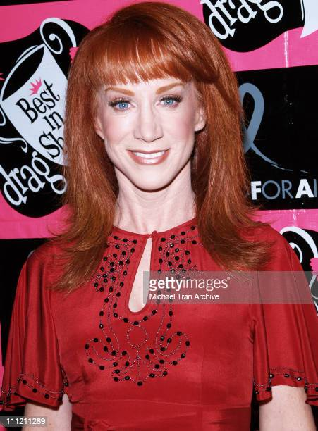 Kathy Griffin during 4th Annual Best in Drag Show to Benefit Aid for AIDS at WilshireEbell Theater in Los Angeles California United States