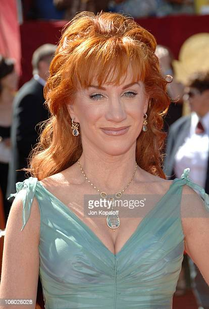 Kathy Griffin during 58th Annual Primetime Emmy Awards - Arrivals at Shrine Auditorium in Los Angeles, California, United States.