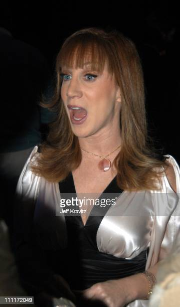 Kathy Griffin during Comedy Central's First Annual Commies Awards After Party at Sony Studios in Culver City California United States