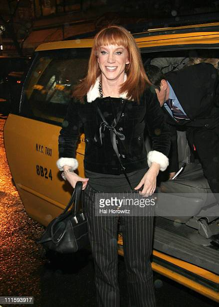 Kathy Griffin during Joan Rivers and Kathy Griffin Dine at David Burke Donatella in New York City at David Burke Donatella in New York City New York...