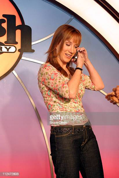 Kathy Griffin during Kathy Griffin Hosts 'Woman of Comedy' Contest at The Laugh Factory in New York City New York United States