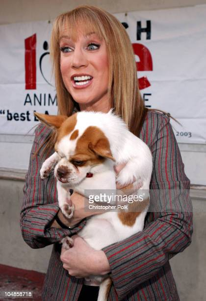 Kathy Griffin during Much Love Animal Rescue Hosts its Second Annual Comedy Charity Event at The Laugh Factory in Hollywood California United States