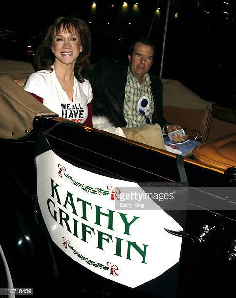 Kathy Griffin during The 74th Annual Hollywood Christmas Parade Arrivals and Green Room at Hollywood Roosevelt Hotel in Hollywood California United...