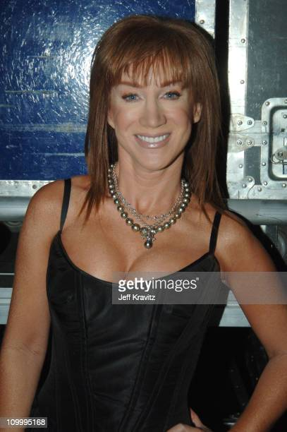 Kathy Griffin during VH1 Big in '05 Backstage and Audience at Sony Studios in Los Angeles California United States