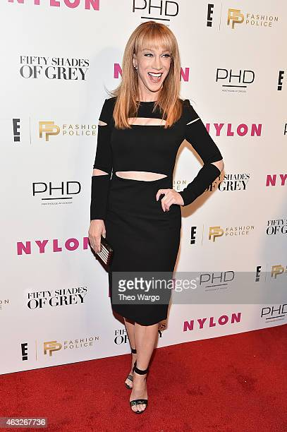 Kathy Griffin Host of E's Fashion Police attends E Fashion Police and NYLON kickoff of NY Fashion Week with 50 Shades of Fashion in celebration of...