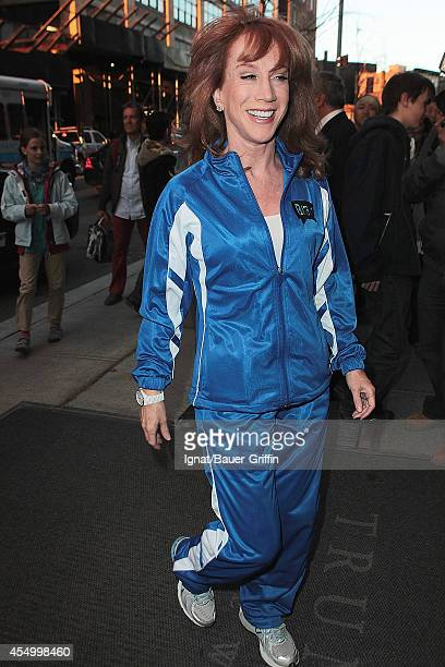 Kathy Griffin is seen on April 04 2012 in New York City