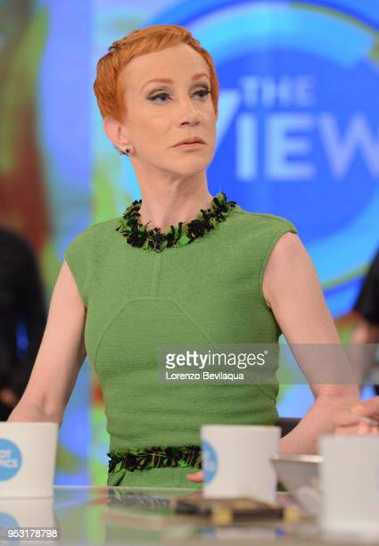 THE VIEW Kathy Griffin is the guest Monday April 30 2018 on Walt Disney Television via Getty Images's The View The View airs MondayFriday on the Walt...