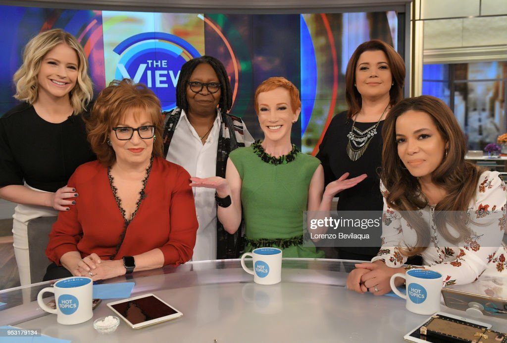 THE VIEW - Kathy Griffin is the guest Monday, April 30, 2018 on ABC's 'The View.' 'The View' airs Monday-Friday (11:00 am-12:00 pm, ET) on the ABC Television Network. HOSTIN