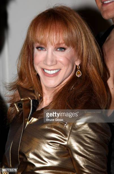 Kathy Griffin poses backstage at The Wendy Williams Show on February 16 2010 in New York City
