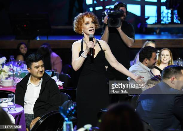 Kathy Griffin speaks during the 11th Annual Shorty Awards on May 05 2019 at PlayStation Theater in New York City