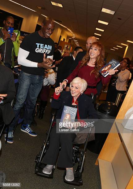 Kathy Griffin with her mother Maggie Griffin at her book signing for Kathy Griffin's Celebrity RunIns My AZ Index at Barnes Noble at The Grove on...