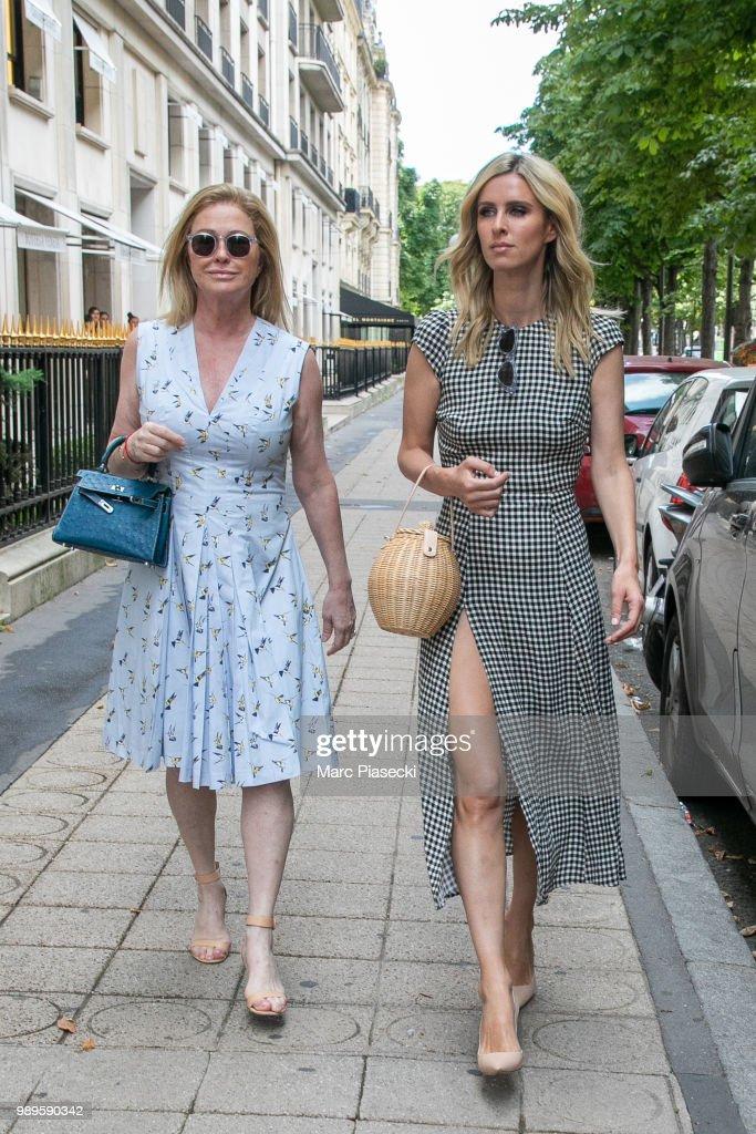 Celebrity Sightings In Paris - July 2, 2018 : Fotografía de noticias