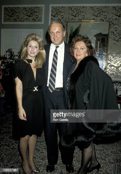 Kathy Hilton and guests during Party In Honor of Contessa Francesca Braschi at Waldorf Towers in New York City New York United States