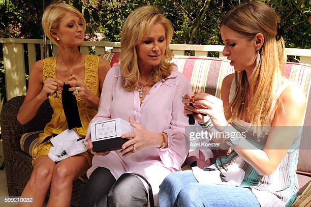 Kathy Hilton and her daughters Nicky and Paris host a Mother's Day brunch at the Hotel Bel Air in honor of Katie and Katie Mills of Cleveland, Ohio,...