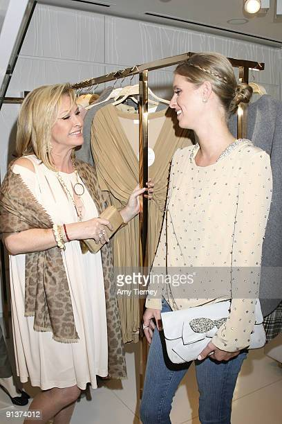Kathy Hilton and Nicky Hilton attend an Evening of Shopping benefiting Step Up Women's Network at Chloe Boutique At Melrose Place on October 1, 2009...