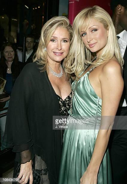 Kathy Hilton and Paris Hilton during Paris Hilton Fragrance Launch Party in Paris France at VIP in Paris France