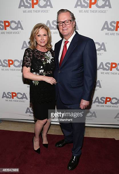 Kathy Hilton and Richard Hilton attend ASPCA's Annual Bergh Ball Gala at The Plaza Hotel on April 10 2014 in New York City