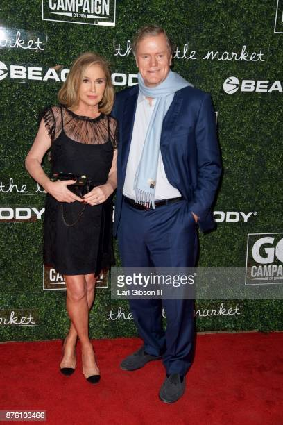 Kathy Hilton and Richard Hilton attend the 2017 GO Campaign Gala at NeueHouse Los Angeles on November 18 2017 in Hollywood California