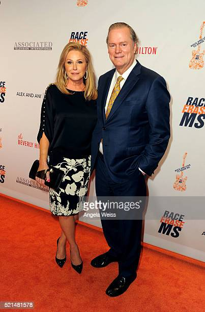 Kathy Hilton and Richard Hilton attend the 23rd Annual Race To Erase MS Gala at The Beverly Hilton Hotel on April 15 2016 in Beverly Hills California