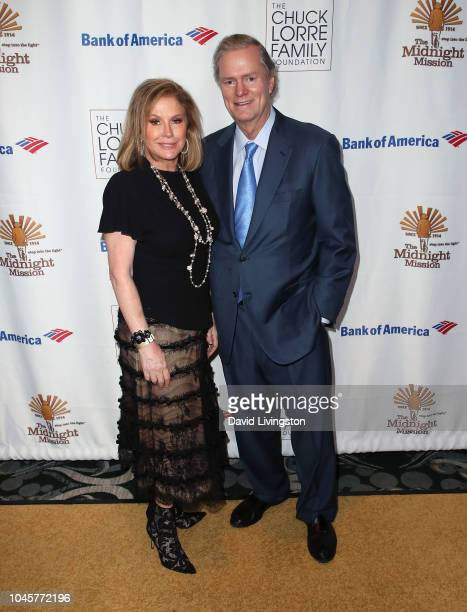 Kathy Hilton and Richard Hilton attend the Midnight Mission 18th Annual Golden Heart Awards Gala at the Beverly Wilshire Four Seasons Hotel on...
