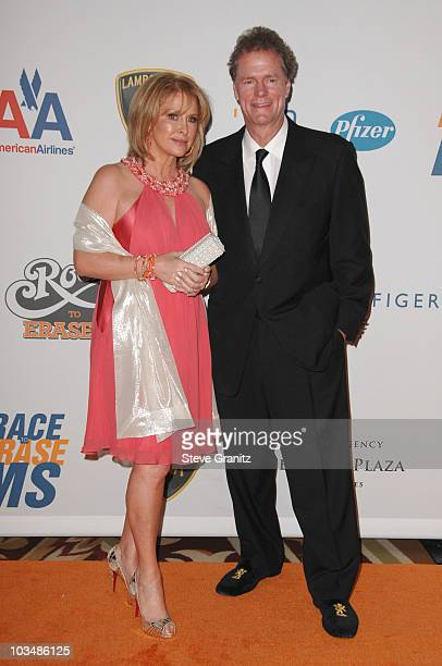 Kathy Hilton and Rick Hilton arrive at the 16th Annual Race to Erase MS event cochaired by Nancy Davis and Tommy Hilfiger at Hyatt Regency Century...