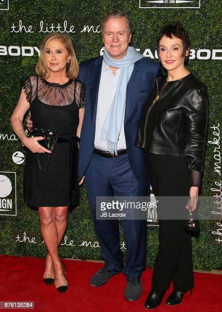 Kathy Hilton and Rick Hilton attend the 2017 GO Campaign Gala on November 18 2017 in Los Angeles California