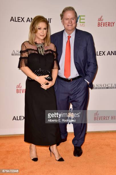 Kathy Hilton and Rick Hilton attend the 24th Annual Race To Erase MS Gala at The Beverly Hilton Hotel on May 5 2017 in Beverly Hills California