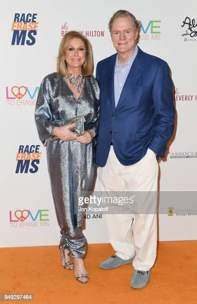 Kathy Hilton and Rick Hilton attend the 25th Annual Race To Erase MS Gala at The Beverly Hilton Hotel on April 20 2018 in Beverly Hills California