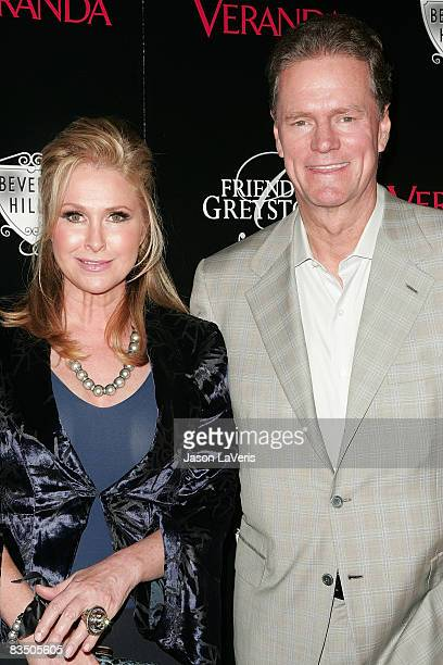 Kathy Hilton and Rick Hilton attend The Great House grand opening at the Greystone Estate on October 30 2008 in Beverly Hills California
