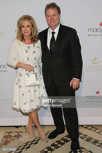 Kathy Hilton and Rick Hilton attends European School Of Economics Foundation Vision And Reality Awards on December 5 2012 in New York City