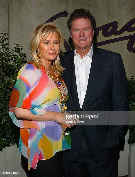 Kathy Hilton and Rick Hilton during CNN Celebrates 20 Years with Larry King Arrivals at Spago in Beverly Hills California United States