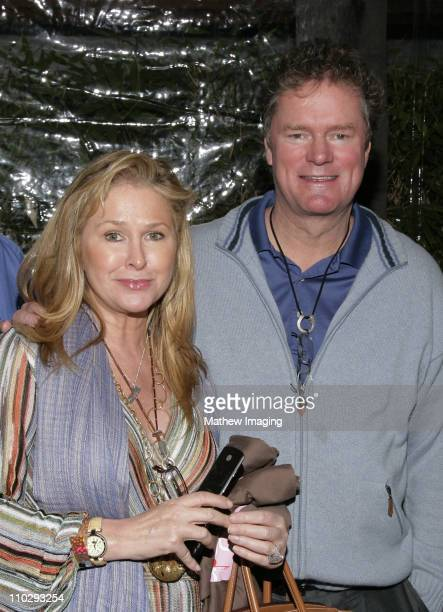 Kathy Hilton and Rick Hilton during GBK Productions 2007 Oscar Gift Suite Day 2 at Hollywood Roosevelt Hotel in Hollywood California