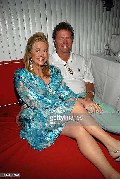 Kathy Hilton and Rick Hilton during Hampton Magazine Celebrates Beth Ostrosky's Birthday July 15 2006 at Star Room in Wainscott New York United States