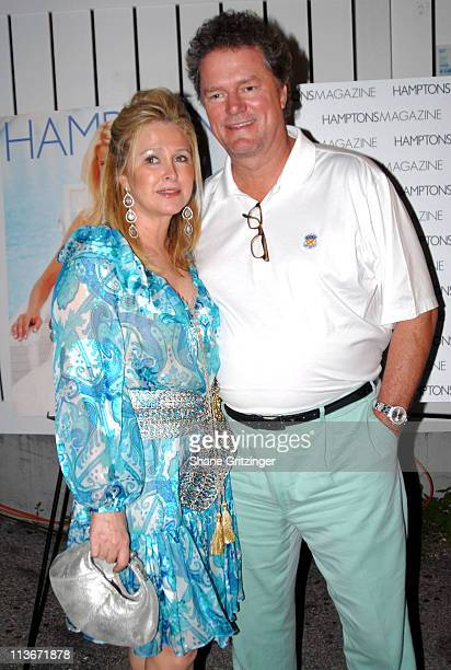 Kathy Hilton and Rick Hilton during Hamptons Magazine July Issue Launch Party And Birthday Celebration For July's Cover Star Beth Ostrosky at Star...