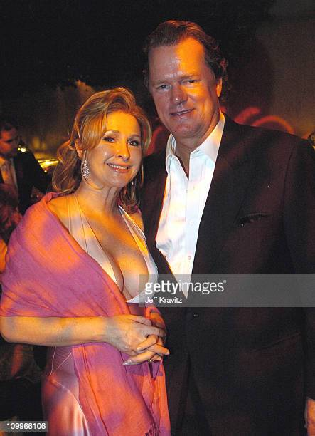 Kathy Hilton and Rick Hilton during HBO Golden Globe Awards Party Inside at Beverly Hills Hilton in Beverly Hills California United States
