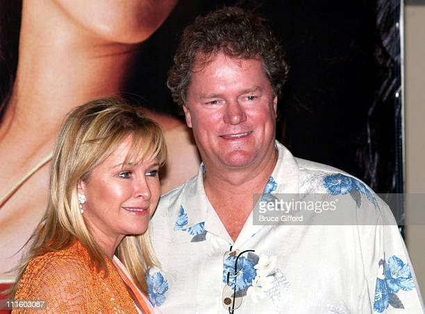 """Kathy Hilton and Rick Hilton during Maxim Magazine and Palms Hotel Present """"Live Like a Hilton"""" with Chick by Nicky Hilton Fashion Show at The Palms..."""