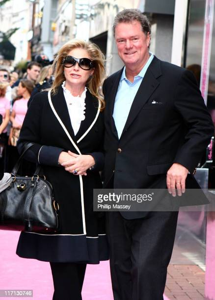 Kathy Hilton and Rick Hilton during Paris Hilton Arriving at the Launch of New Fragrance Heiress at BT2 in Dublin Ireland