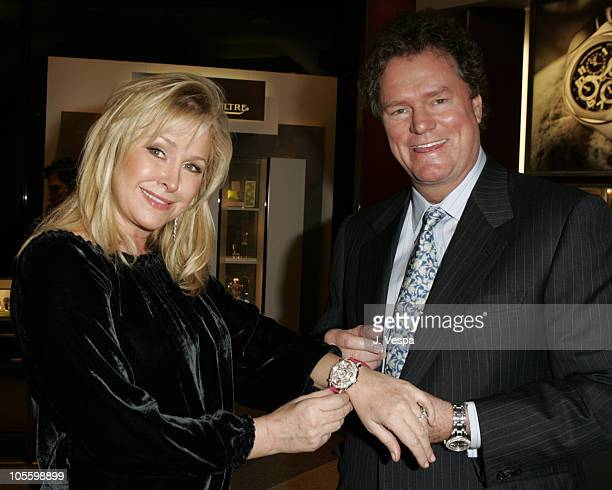 Kathy Hilton and Rick Hilton during Paris Hilton Limited Edition Watch Collection Launch Party - Inside at Tourneau Time Machine in New York City,...