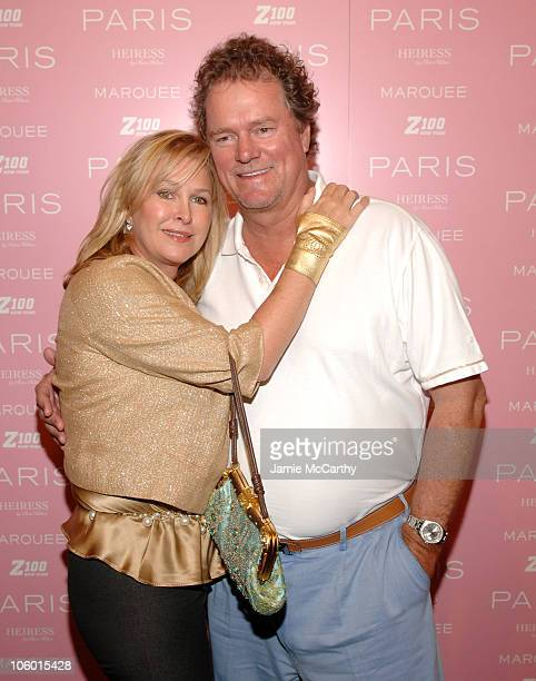 Kathy Hilton and Rick Hilton during Paris Hilton Record Signing - After Party - Arrivals at Marquee in New York City, New York, United States.