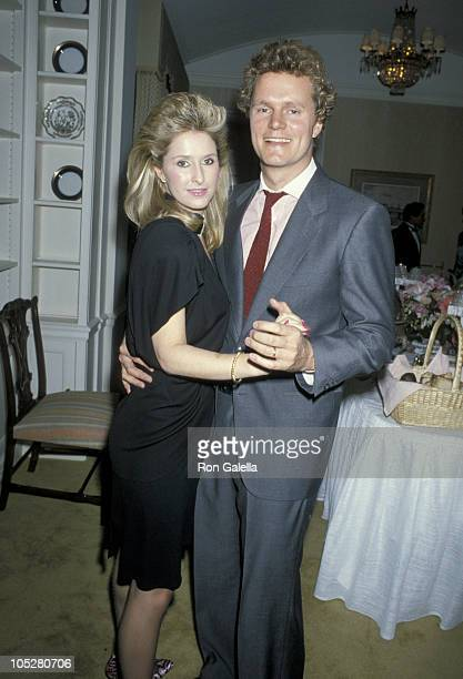 Kathy Hilton and Rick Hilton during Party In Honor of Contessa Francesca Braschi at Waldorf Towers in New York City New York United States
