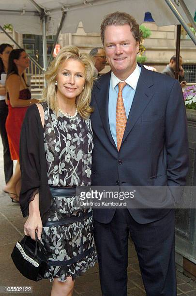 """Kathy Hilton and Rick Hilton during Sirio Maccioni """"The Story of My Life and Le Cirque"""" Book Party at Le Cirque 2000 in New York City, New York,..."""