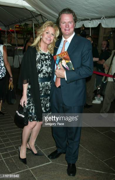 Kathy Hilton and Rick Hilton during Sirio Maccioni The Story of My Life and Le Cirque Book Party at Le Cirque 2000 in New York City New York United...