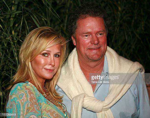 Kathy Hilton and Rick Hilton during The Cinema Society and The Wall Street Journal Host The Illusionist After Party at Pink Elephant in Southampton...