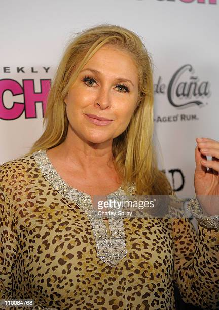 Kathy Hilton arrives at In Touch Weekly's ICONS IDOLS CELEBRATION with performances by Good Charlotte Leona Lewis and The Veronicas and music...