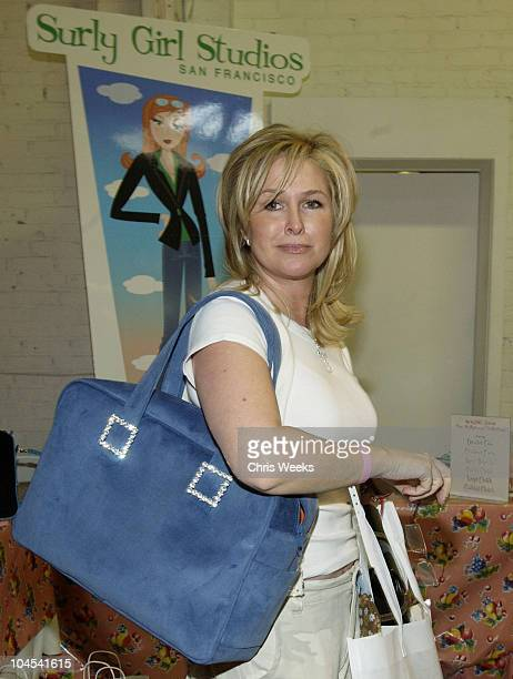 Kathy Hilton at Surly Girl Studios during The Silver Spoon Golden Globe Hollywood Buffet Day 1 at Ivar Soho Project in Hollywood California United...