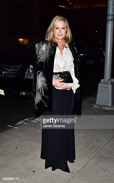 Kathy Hilton attends 'An Evening Honoring Valentino' Lincoln Center Corporate Fund Gala at Alice Tully Hall at Lincoln Center on December 7 2015 in...