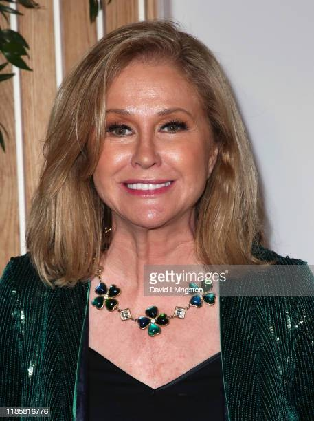 Kathy Hilton attends the 1 Hotel West Hollywood grand opening event at 1 Hotel West Hollywood on November 05 2019 in West Hollywood California